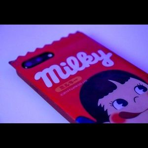 Red Milky Candy Bar Soft Case